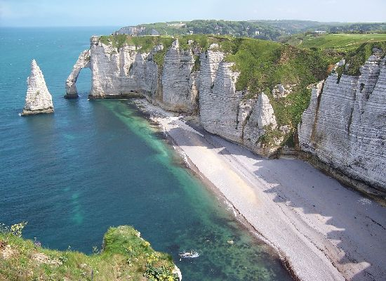 Etretat-of-Normandie-France