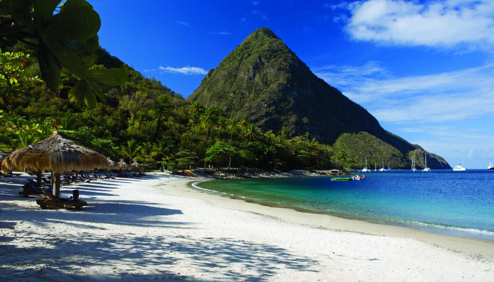 st lucia sugar-beach